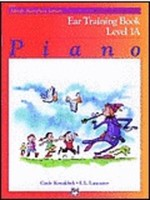 Alfred's Basic Piano Course: Ear Training Book 1A