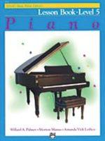 Alfred's Basic Piano Course: Lesson Book 5