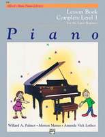 Alfred's Basic Piano Library Lesson Book Complete 1 (1A/1B)