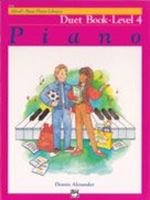 Alfred's Basic Piano Course: Duet Book 4