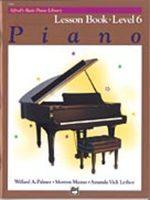 Alfred's Basic Piano Course: Lesson Book 6