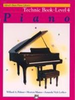 Alfred's Basic Piano Course: Technic Book 4