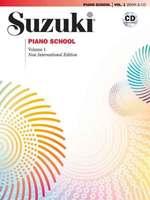 Suzuki Piano School Vol. 1 Book & CD