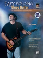 Easy Soloing For Blues Guitar Bk/Cd