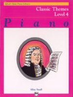 Alfred's Basic Piano Course: Classic Themes Book 4