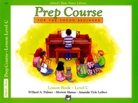 Alfred's Basic Piano Prep Course Lesson Book Level C