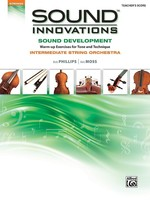 Sound Innovations Sound Development - Teacher's Score