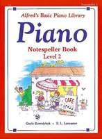 Alfred's Basic Piano Course: Notespeller Book 2