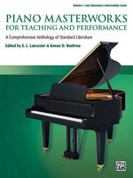 Piano Masterworks for Teaching and Performance Vol. 1