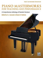 Piano Masterworks for Teaching and Performance Vol. 2