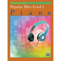 Alfred's Basic Piano Course: Popular Hits, Level 2