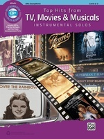 Top Hits from TV, Movies & Musicals - Alto Sax
