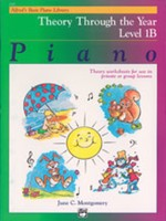 Alfred's Basic Piano Course: Theory Through the Year Book 1B