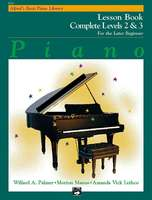 Alfred's Basic Piano Course Lesson Book 2 & 3 Later Beginner