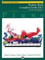Alfred's Basic Piano Course: Technic Book Complete 2 & 3