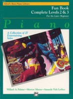 Alfred's Basic Piano Course: Fun Book Complete 2 & 3