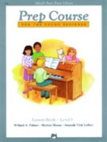 Alfred's Basic Piano Prep Course Lesson Book Level F