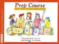 Alfred's Basic Piano Prep Course Notespeller Book Level A