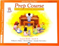 Alfred's Basic Piano Prep Course Lesson Book Level A