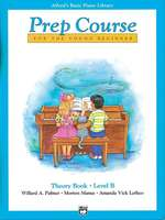 Alfred's Basic Piano Prep Course Theory Book Level B