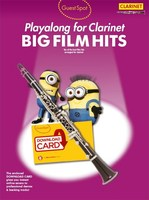 Guest Spot Playalong for Clarinet Big Film Hits