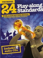 24 Play-Along Standards for Trumpet