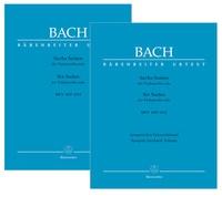 Six Cello Suites BWV 1007-1012