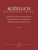 Complete Sonatas for Keyboard Vol. 1-4