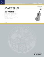 2 Sonatas No. 1 in F major and No. 4 in G minor
