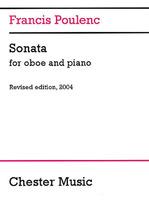 Poulenc Sonata Oboe/Pno Revised Ed.2004