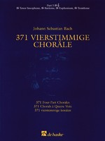371 Four-Part Chorales - Part 3 Bb Treble Clef