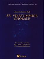 371 Four-Part Chorales - Part 4 Bb Treble Clef