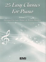 25 Easy Classics for Piano Volume 3