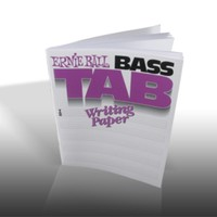 Bass TAB Writing Paper