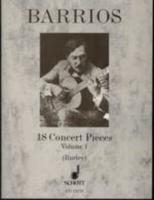 18 Concert Pieces Vol. 1