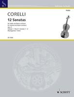 12 Sonatas Op. 5 Book 1 Nos. 1-6