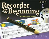 Recorder From The Beginning Pupil's Book/CD 1