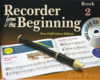Recorder From The Beginning Pupil's Book/CD 2