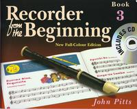 Recorder From The Beginning Pupil's Book/CD 3