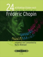 24 Eight-Bar Etudes after Frederic Chopin