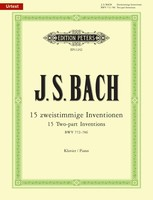15 Two-Part Inventions BWV 772-786
