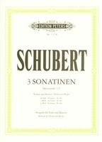 3 Sonatinas No. 1-3 Op. 137