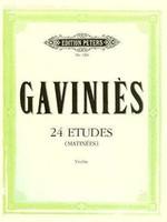 24 Etudes 'Matinees'