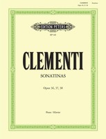 Sonatinas Op. 36 Nos. 1-?6; Op. 37 Nos.1?-3; Op. 38 Nos.1-?3