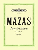 10 Duos abecedaires Op. 85 Vol. 2 Nos. 6-10