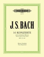 16 Concertos based on works by various masters BWV 972-987