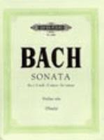Sonata No 1 BWV 1001 G Min