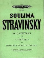 18 Cadenzas And 4 Fermatas To Mozart Concertos
