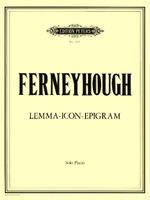 Lemma-Icon-Epigram For Solo Piano