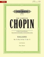 Ballades Op. 23, 38, 47, 52
